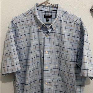 St John's Bay button down short sleeve shirt